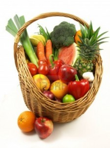 fruits and veggies for a healthy body
